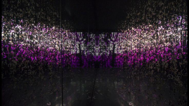 #typonoise #installation #art by Aleksandra Toborowicz @alextoborowicz #chaos of #information #letter #typo #artforsale #contemporaryart #artwork #contemporary #gallery #artgallery #collector #interiordesign  #poland #artlover #artcollector #modernart #modernartist #exhibition #dubai #sharjah #uae #sharjahcalligraphybiennial2016