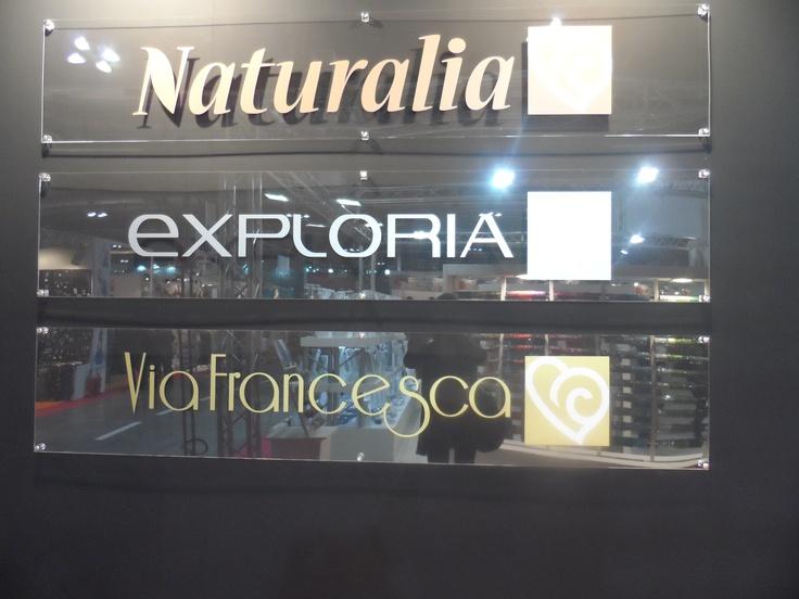 LINEE NATURALIA, EXPLORIA e VIA FRANCESCA, presentate in anteprima a Macef 2013. BARBIERI CREAZIONI