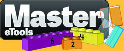 Master eTools is a new FREE virtual math manipulative tool that makes addition, subtraction, multiplication, division, fractions and much more...and makes them fun for students and easy for teachers! Great for traditional, intervention, and special education settings. Master eTools takes the MasterPieces and the MasterFractions and makes them digital!  The sample student version is FREE to use.