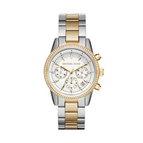 Michael Kors Women's Ritz Silver-Tone Watch MK6474 *** Check out the image b...