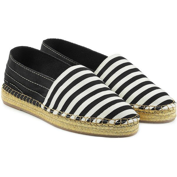 Marc Jacobs Striped Espadrilles ($230) ❤ liked on Polyvore featuring shoes, sandals, multicolor, colorblock sandals, espadrille sandals, summer shoes, espadrilles shoes and striped espadrilles