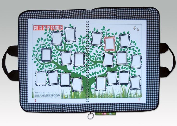 Een bijzondere tas voor kinderen waarvan papa en mama besloten hebben om te gaan scheiden.