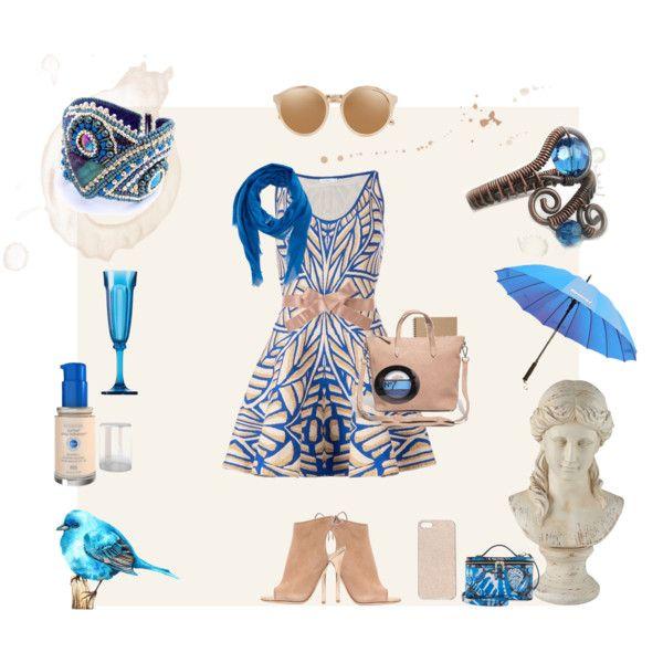 #fashion #spring #women #jewelry #gift #blue