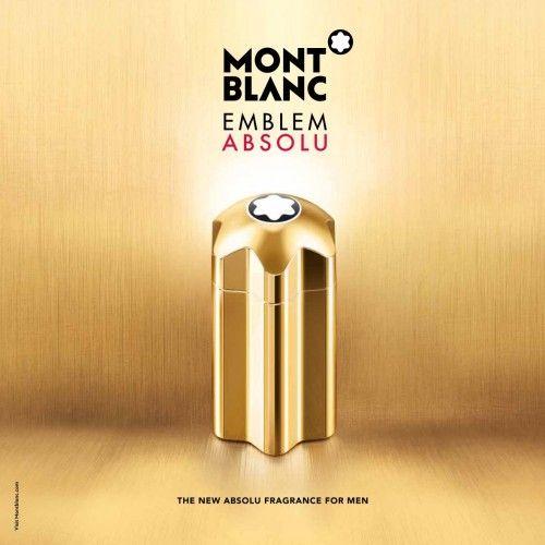 """MontBlanc Emblem Absolu Eau Toilette - A caneta """"Rouge et Noir"""" de Montblanc, inspirada no pico mais alto da Europa, foi um sucesso imediato desde seu lançamento em 1909, e logo se tornou um objecto de desejo.  A legendária marca coroaria cada peça de sua colecção com uma beleza não menos que perfeita. Depois do sucesso da fabricação de canetas de luxo, a Montblanc investiu em outros acessórios como relógios, artigos de couro, perfumes e produtos da linha corpo e banho.  ..."""