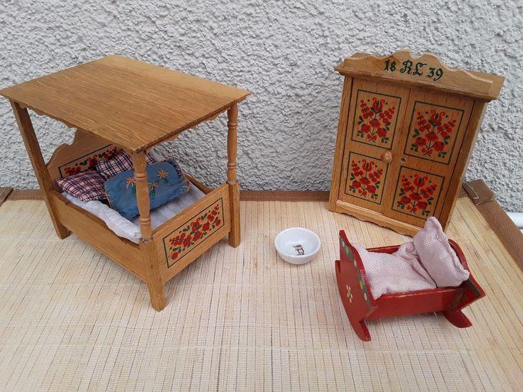 734 best folk bauernm bel for the dollhouse images on. Black Bedroom Furniture Sets. Home Design Ideas