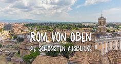 Ich zeige dir die schönsten Aussichtspunkte auf die Stadt Rom von oben. Rom wurde auf 7 Hügeln erbaut, es gibt viele Ort für Ausblicke auf die Ewige Stadt.