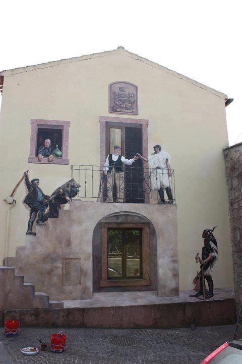 Murale di Ulà Tirso