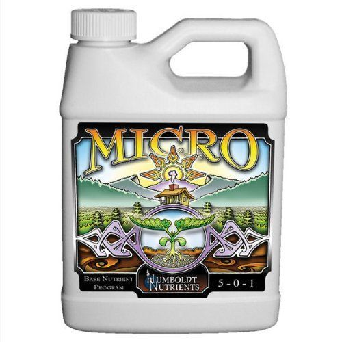 Vegetative Stimulator - Hydroponic Plant Nutrient Solution - 946 ml - Micro by Humboldt Nutrients by Humboldt Nutrients. $9.40