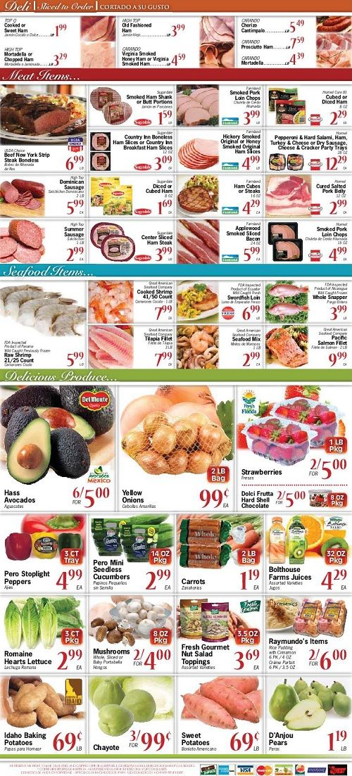Sedano's Supermarkets Weekly Ads