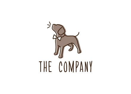 logo ideas dog training business dog logo design