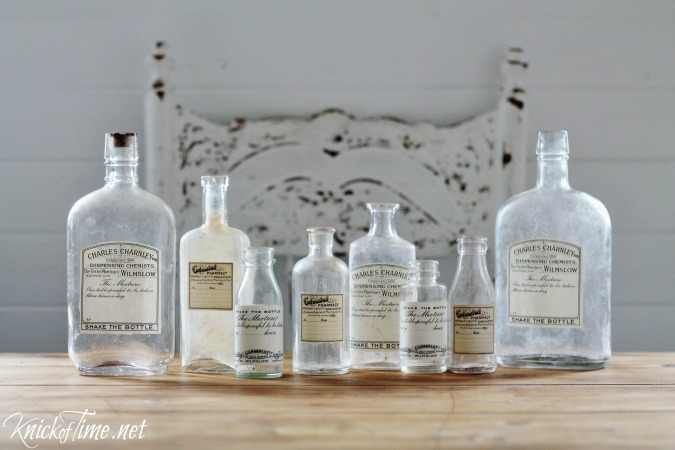 Turn Any Old Bottle or Jar Into an Antique Style Apothecary Bottle!