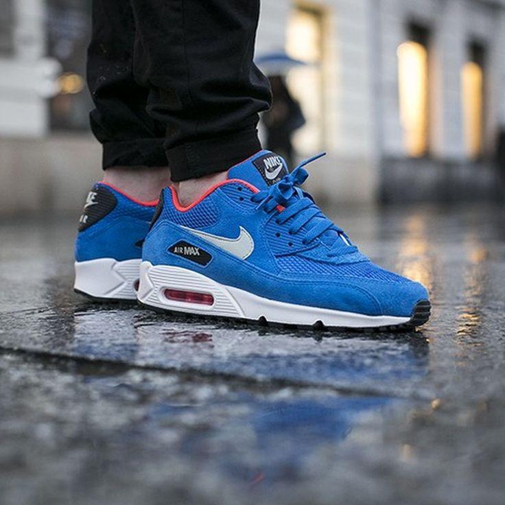 nike air max 90 electric blue