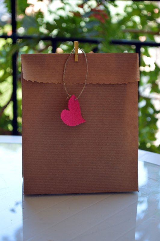 Aprende hacer bolsas de papel kraft #DIY #decoración #deco