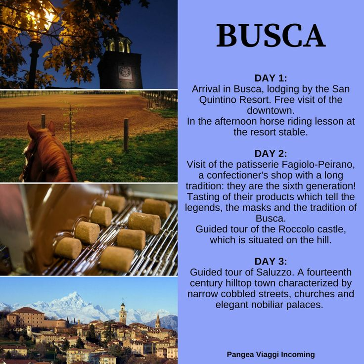 3 days in Busca!