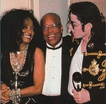 Diana Ross, Berry Gordy and Michael Jackson