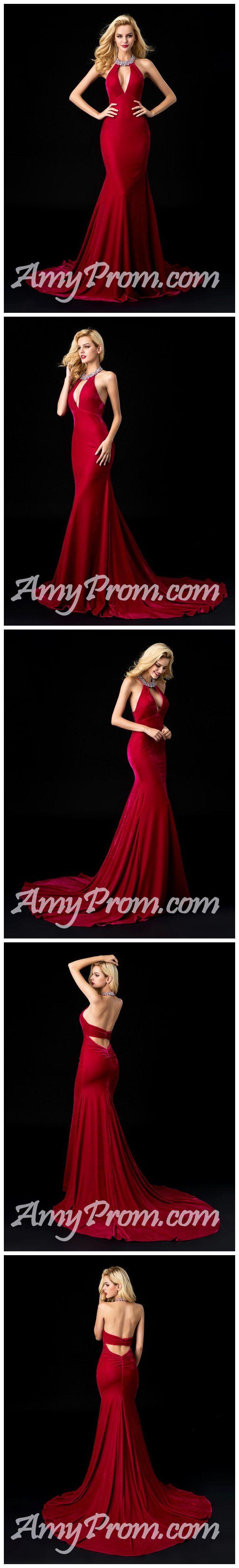 Red Prom Dress,Mermaid Prom Dress,Long Prom Dress,2018 Prom Dress,Cheap Prom Dress #amyprom #longpromdress #2018prom #promdress