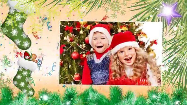 """Канал Creati Video (Креати Видео) представляет Вашему вниманию семейное Видео поздравление """"С Рождеством!"""" с яркой, красочной графикой и задорной песней. Нап..."""