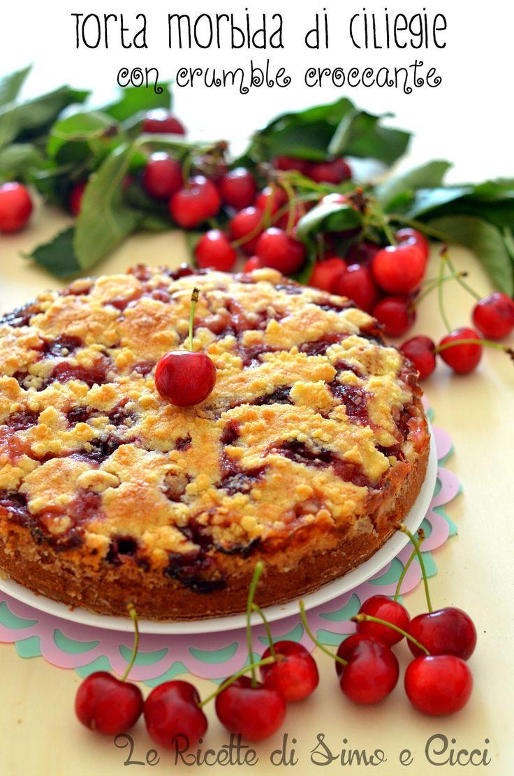 LaTorta morbida di ciliegie con crumble croccanteè un dolce da credenza soffice ma allo stesso tempo croccante, una torta irresistibile dal profumoRead more...