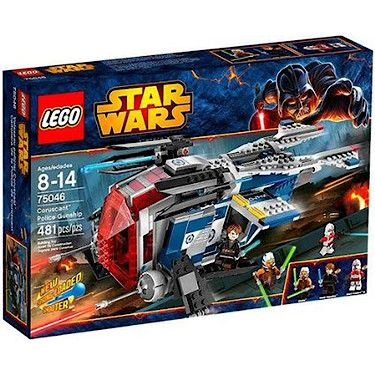 Lego Star Wars Coruscant Police Gunship - 75046 - The Entertainer - The Entertainer