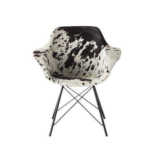 Cowhide Guariche armchair