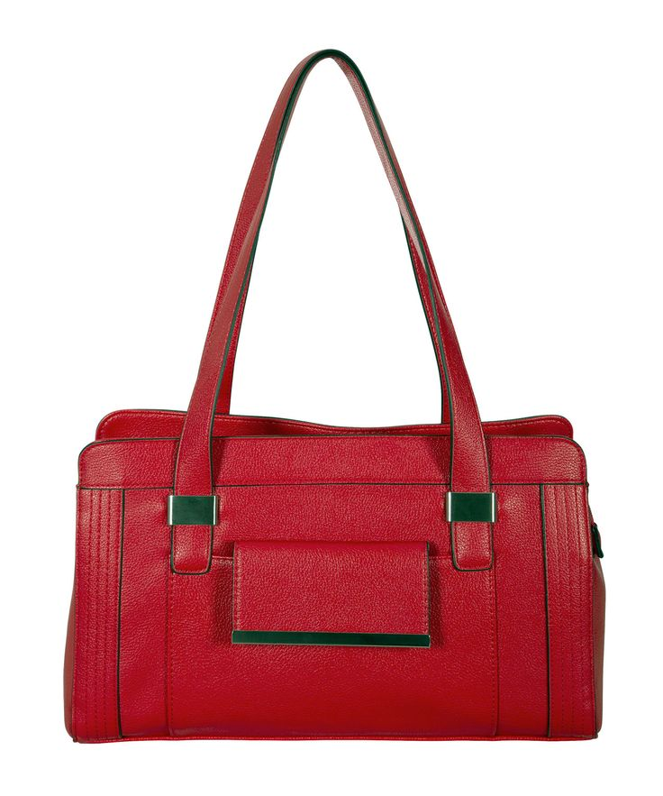 Ruby Red Satchel #rickis #rickisfashion #loverickis #simplyparisian #winter2015 #spring2015