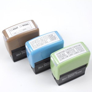 Self-Inking Stamp Set now featured on Fab.