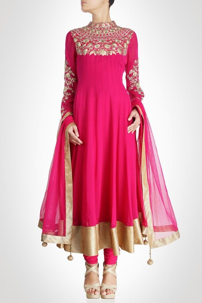 Anarkali Frocks-Churidar Salwar