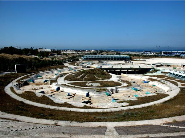 Olympic Ruins - canoe/kayak slalom course of Athens's 2004 by Angelos Tzortzinis