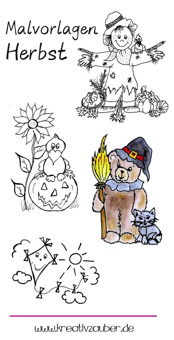 Ausmalbilder Herbst Malvorlagen Kreativzauber Ausmalbilder Herbst Malvorlagen Herbst Ausmalbilder