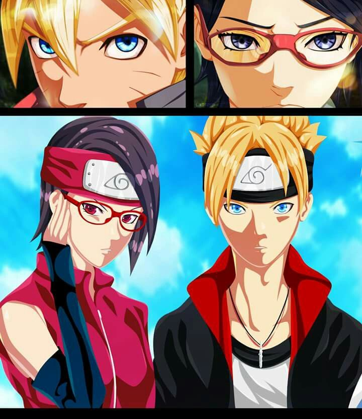 34 Best Sarada Uchiha Images On Pinterest