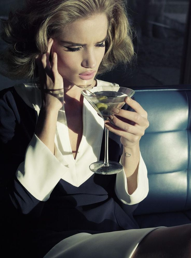 Rosie Huntington-Whiteley by Tom Munro