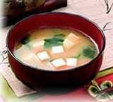 Vegetarische Miso Suppe Japanisch