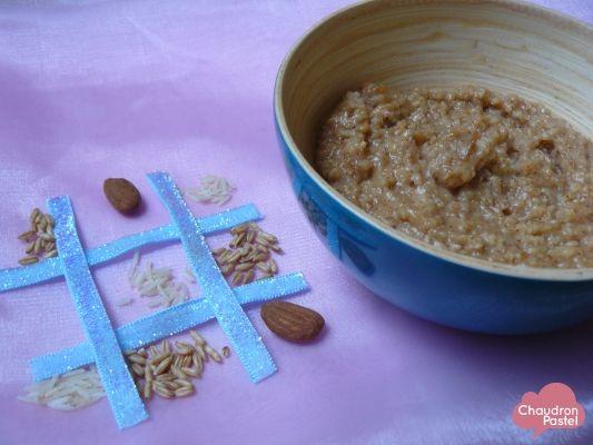 Porridge frangipane (petit déjeuner santé) sur Chaudron+Pastel+de+Mély
