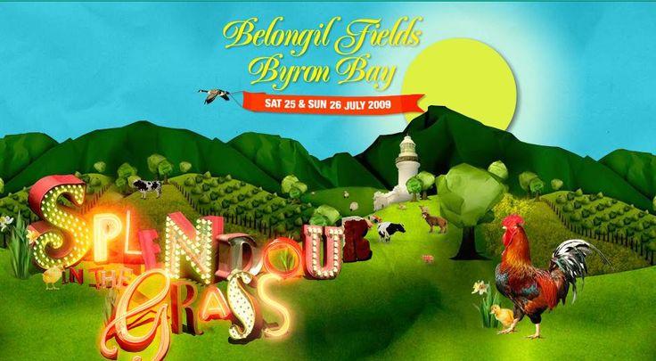 Splendour In The Grass (2009 Poster)