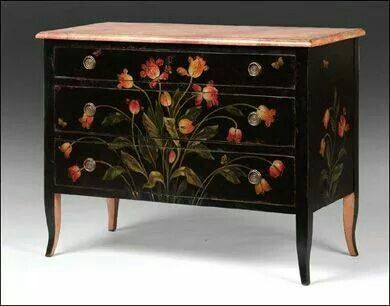 Beautiful painted chest