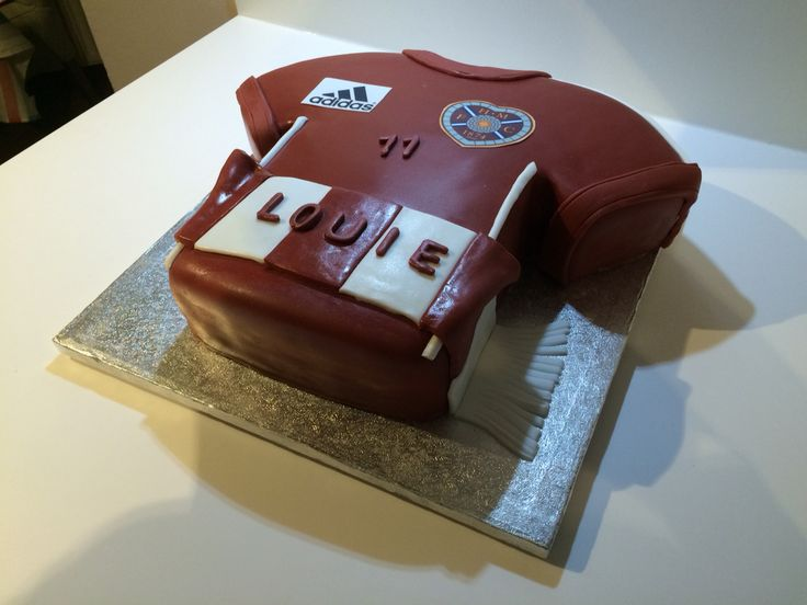 Hearts Football Top Cake Edinburgh Midlothian