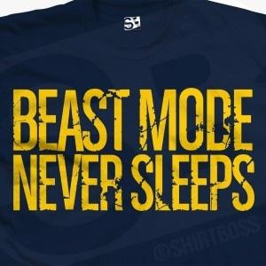 Beast Mode Never Sleeps T-Shirt