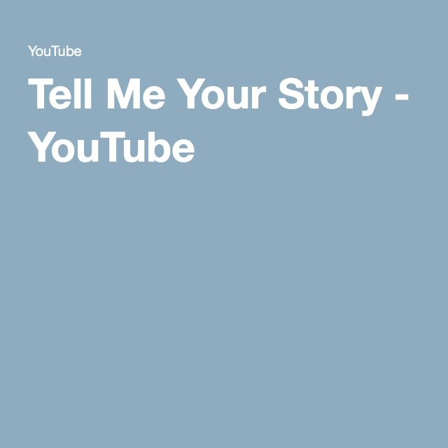 Tell Me Your Story - YouTube - possibility for #bookweek16?