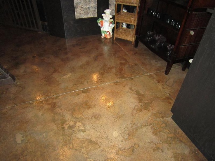 Decorative Concrete Floor Finishes : Best images about interior decorative concrete on