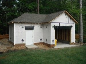 17 best garage images on pinterest cabana pole barn for Barn shaped garage