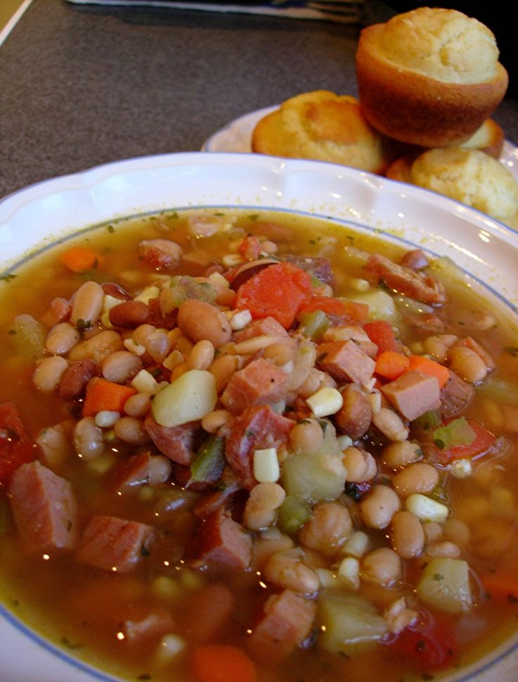 recipe for HAM-BONE SOUP | plus over 50 more great Soups & Stews