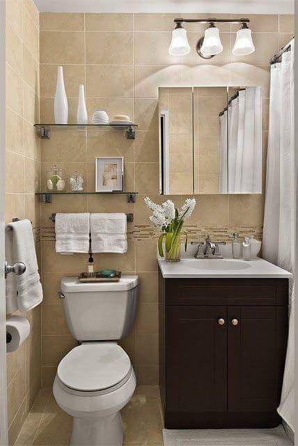 idea para baño pequeño