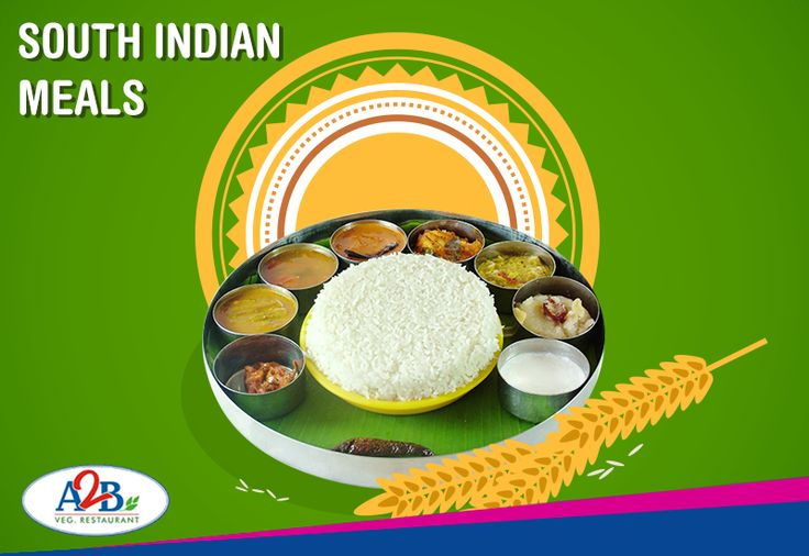 A full-fledged South-India meals starting from hot rice with delicious gravies and side dishes at Adyar Ananda Bhavan is a sure delight to the taste buds.   www.aabsweets.in | admin@aabsweets.com +91- 44 - 23453050, 24469977, 24462324  #AdyarAnandaBhavan #Food #Foodie #Happiness #Restaurant #A2B
