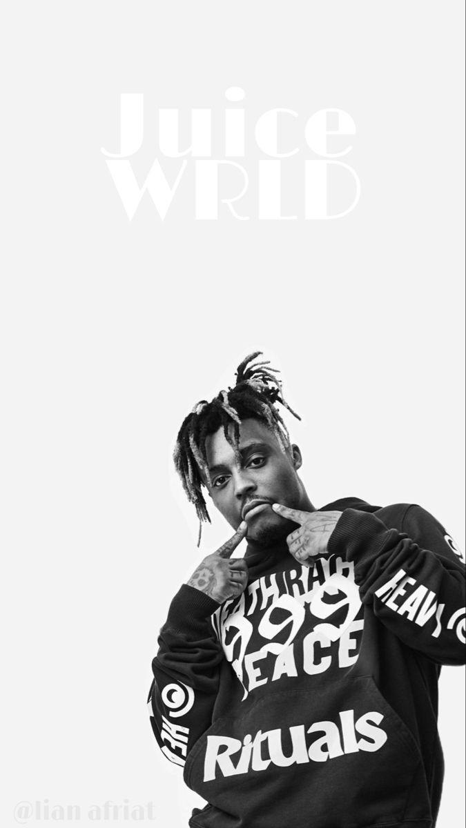 Juice Wrld Wallpaper In 2021 White Rapper Rap Wallpaper White Aesthetic