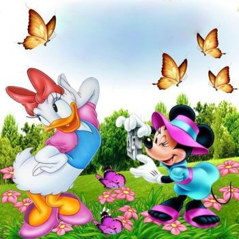 Minnie and Daisy (81 pieces)