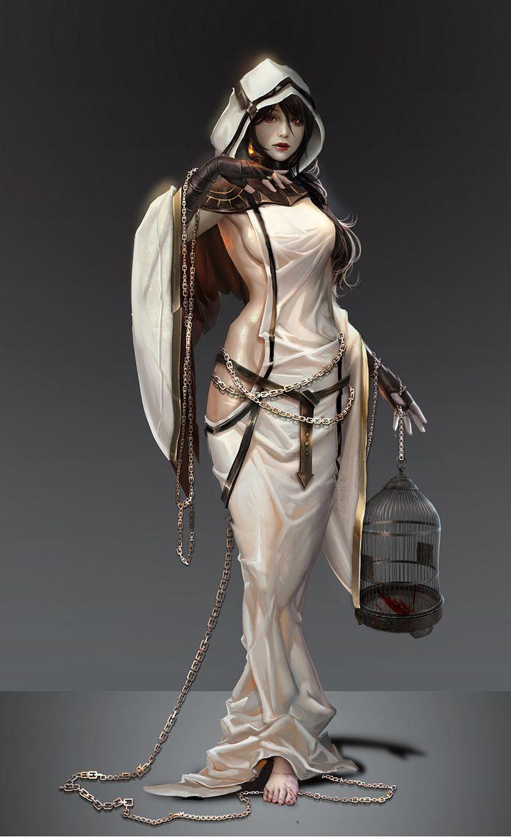 Priestess arcana sangre verde on artstation at https www artstation