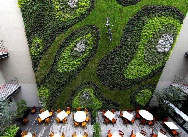 17 best images about jardines verticales y techos verdes for Jardines verticales mexico