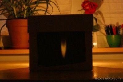 camera obscura doświadczenie zjawiska świetlne