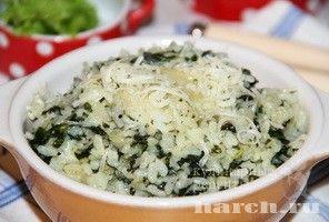 Рис со шпинатом и сыром, retsepty dlya kormyashhih mam vtorye blyuda iz ovoshhej i gribov vtorye blyuda