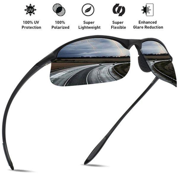 34de94bf8145e camcorners.com JULI Brand Classic Polarized Sunglasses Men Women Driving  TR90 Frame Male Sun Glasses Fishing Sports Goggles UV400 Gafas MJ8002   skincare ...